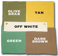 Custom canvas tarp colors